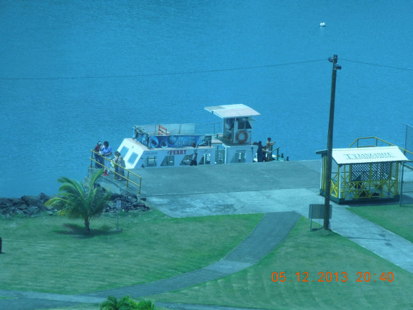 服务区内轮渡小码头