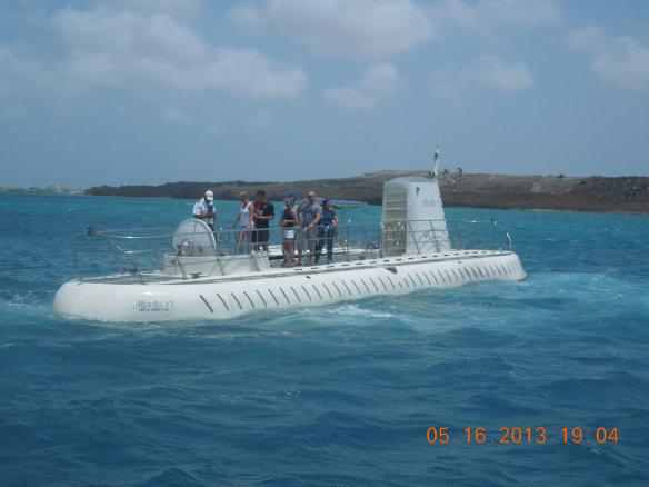 时尚的小潜艇